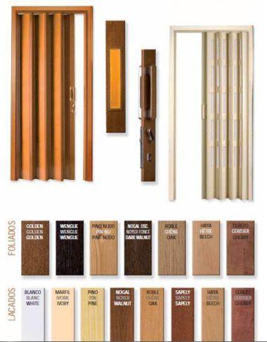 como hacer puertas de madera plegables