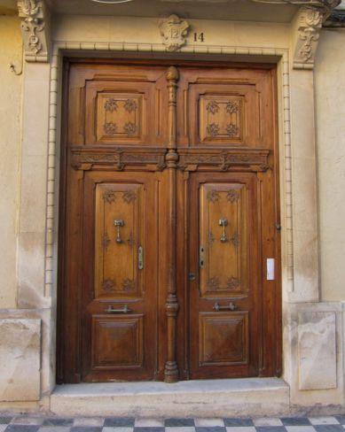 puertas antiguas de madera para decorar