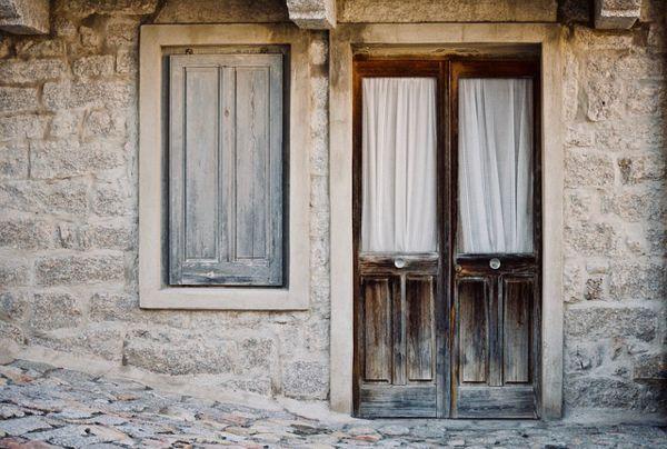 puertas antiguas recuperadas