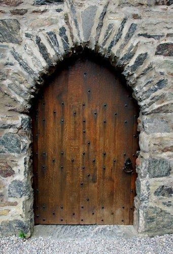 puerta de exterior antigua