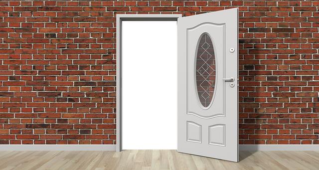 puerta de paso celosia
