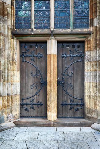 puertas antiguas de madera recicladas