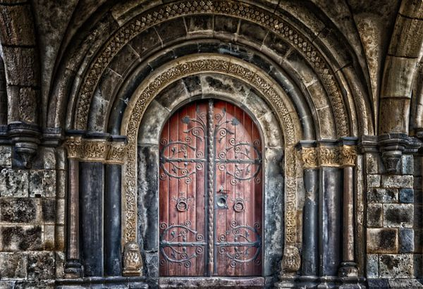 puertas antiguas de interior