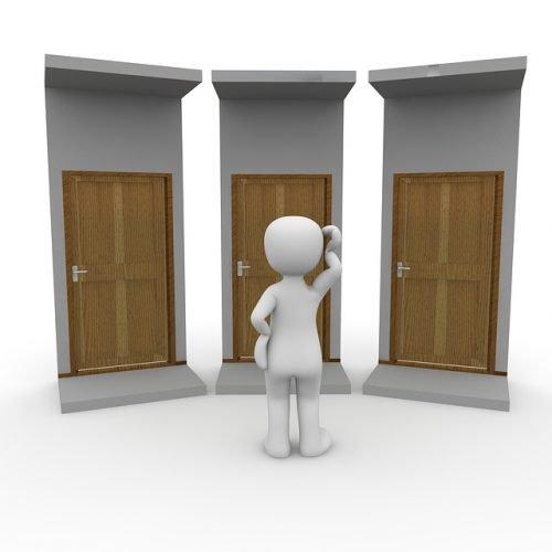 instalar puertas en block
