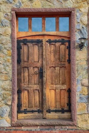 reutilizar puertas de madera viejas