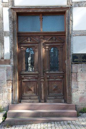 puertas de madera de casas antiguas