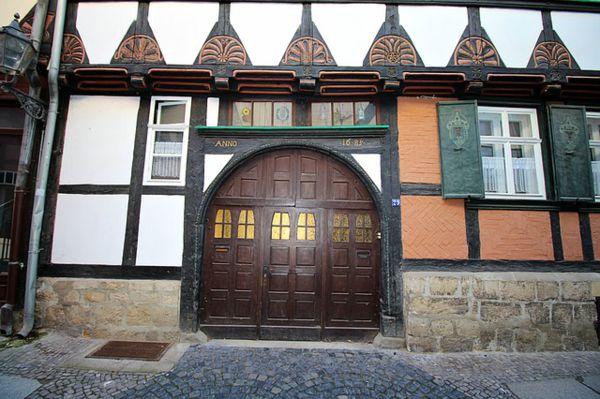 puertas de madera estilo antiguas