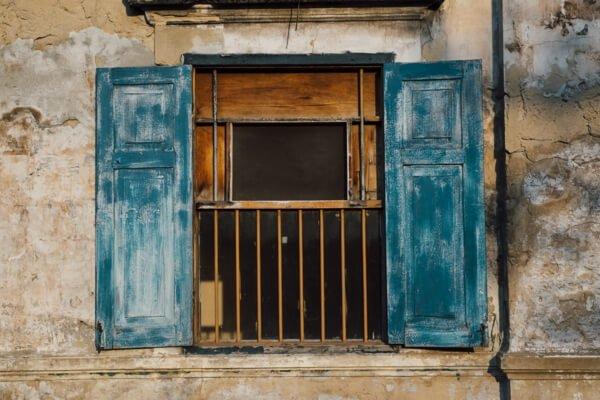 ventanas de madera antiguas